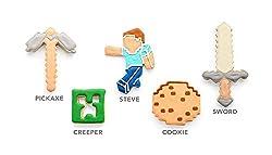 Minecraft 5pc Cookie Cutters
