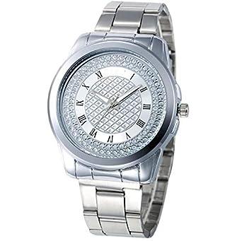 HZBIOK Reloj Mujer 2019 Nueva Marca Gold Grid Crystal Casual ...