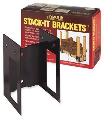 (5) Seymour Mfg 30-360 Firewood Log Rack Bracket (Seymour Rack)