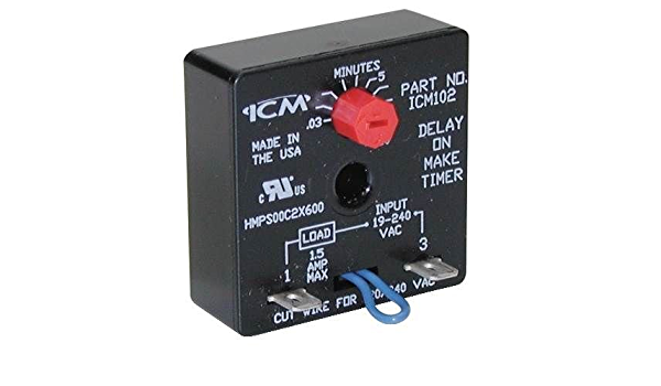 USA Universal Delay on Make Timer Relay Icm102 Icm102b for sale online