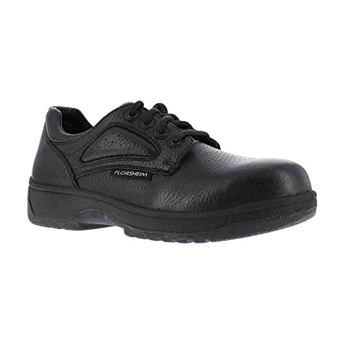 Florsheim Work Men's FS2416 Work Shoe,Black,11 D US by Florsheim