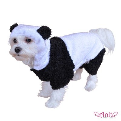 Panda Dog Costume Size: X-Small (Up to 8″ L), My Pet Supplies