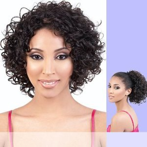 Motown Tress (Tio-120) - Synthetic Half Wig & Ponytail in F4_27_30 ()