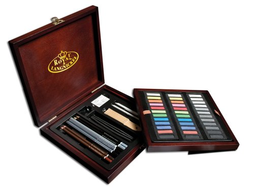 royal-brush-rset-pas1600-premier-box-set-pastel-pencil