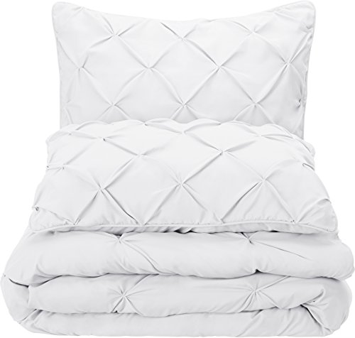 AmazonBasics Pinch Pleat Comforter Comforter Sets