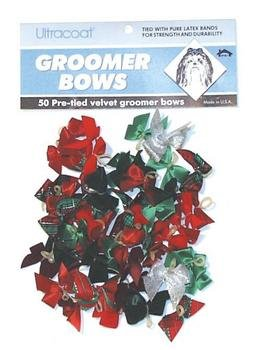 Velvet Style Grooming Bows – 50 count, My Pet Supplies