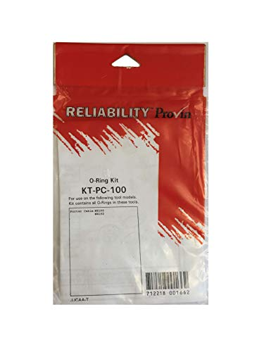 Reliability Provin KT-PC-100 Aftermarket Replacement Part for the Porter Cable NS100 Porter Cable NS150 Porter Cable KT-PC-100 O-Ring Kit