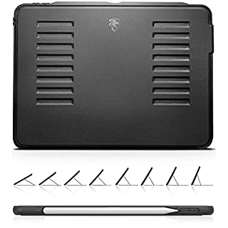 The Muse Case - 2018 iPad Pro 11 inch (Old Model) - Very Protective But Thin + Convenient Magnetic Stand + Sleep/Wake Cover - ZUGU CASE (Model #'s A1934, A1979, A1980, A2013)