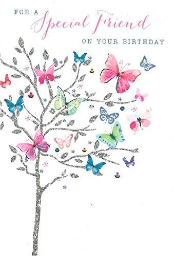 Biglietto Per Auguri Di Compleanno Per Un Amico Speciale Fiori