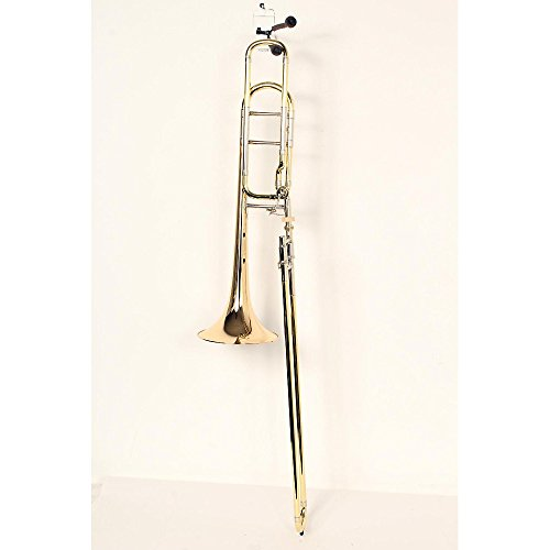Bell Brass F-series Bell (Bach 42BO Stradivarius Series F-Attachment Trombone Level 3 Lacquer, Gold Brass Bell Standard Slide 888365582252)