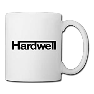 Christina DJ Hardwell Logo Ceramic Coffee Mug Tea Cup White