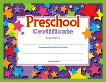 Preschool Certificates (Pack of 30)]()