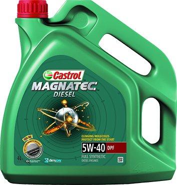 Castrol 151B71 Magnatec Diesel 5W40 DPF Aceite, 4 litros: Amazon.es: Coche y moto
