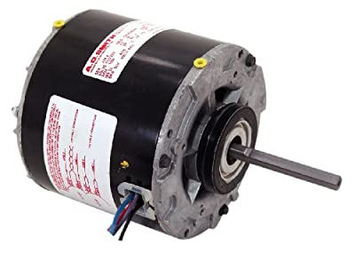 A.O. Smith 614 1/10 HP, Open Enclosure, Sleever Bearing, Shaded Pole, 3/8-Inch by 3-1/4-Inch Shaft, CWSE Rotation Refrigeration Motor