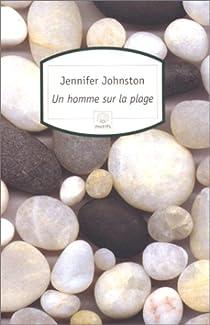 Un homme sur la plage par Johnston