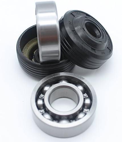 2Set c/árter Cig/üe/ñal principal rodamientos retenes de aceite para Husqvarna 36/41/136/136E 137/137E 141/141e 142/235E 240E motosierra 530056363