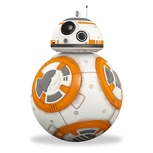 amazoncom hallmark keepsake star wars the force awakens christmas bb 8 holiday ornament home kitchen