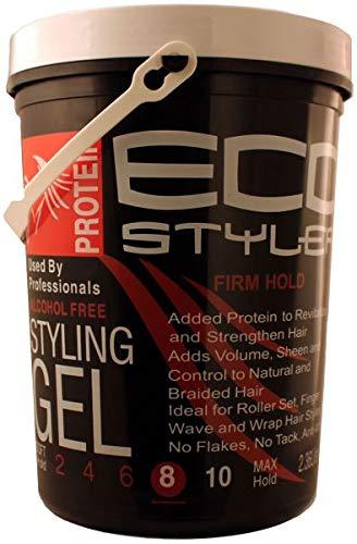 ECOCO Eco Style Gel, Black, 80 - Protein Styling Gel