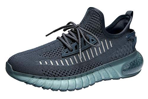 SUOKENI Men's Fashion Sneaker Breathable Running Shoes Lightweight Walking Shoes