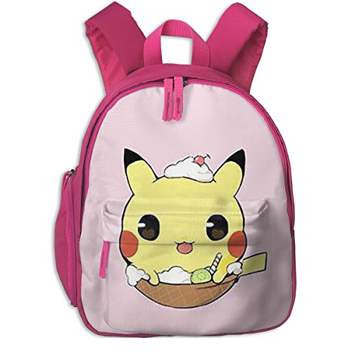 Unisex Kids Oxford Fabric Travel Outdoor School Backpack,Pikachu Children School Book Bag -