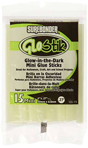 Surebonder GS-15 Glo StikGlow-in-the-Dark All Temp Mini Glue Stick-15 sticks-4