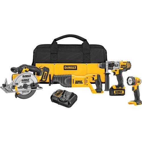 DEWALT-DCK491L2-20-Volt-MAX-Li-Ion-30-Ah-4-Tool-Combo-Kit