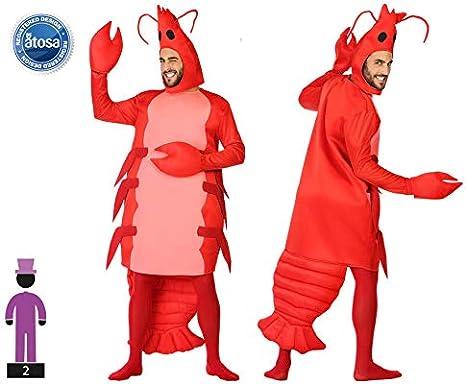 Atosa-54248 Disfraz Gamba, Color Rojo, M-L (54248): Amazon.es ...