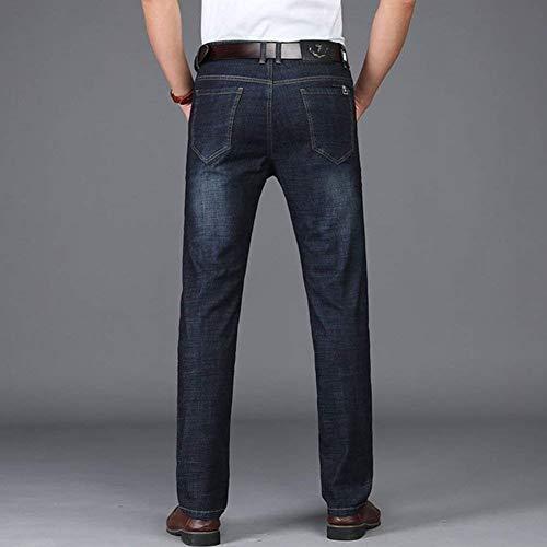 Hombres Ufige Joven Vaqueros Stil3 Del Yasminey Pantalones Rectos Section Jeans Nne De Flojos Negocio Los cwZ8pCqpax