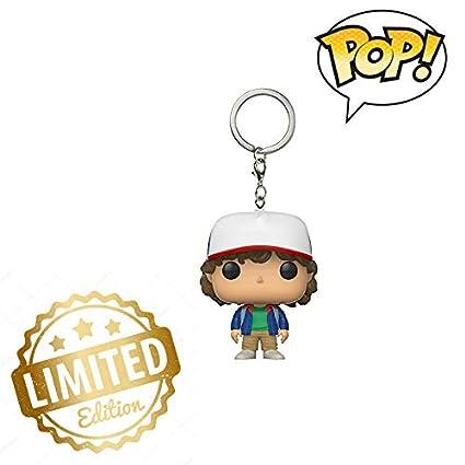 Amazon.com | Pop Keychain Stranger Things Dustin Action ...
