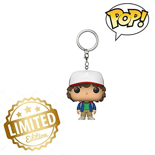 Funko Pop Llavero Stranger Things Dustin Figura de acción ...