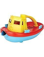 Green Toys TUG01R-Y stoomschip badkuipspeelgoed