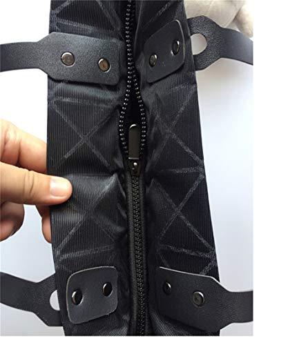 Main Sac Unique BLACKHEI Taille à Blanc Femme Noir pour Noir UE71a6