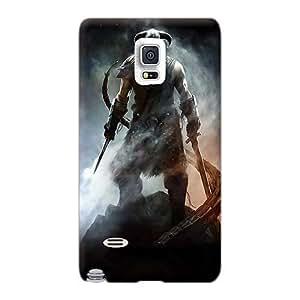 Samsung Galaxy Note 4 ALU17443WGHY Unique Design Lifelike Skyrim Pattern Perfect Hard Phone Covers -JacquieWasylnuk