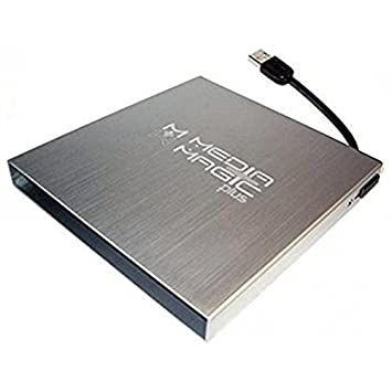OEM Systems Company - Media Magic Caja Externa DVD USB Plata ...