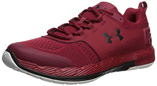 Under Armour Men's Commit TR EX Sneaker, Aruba Red (600)/Black, 9.5 M US