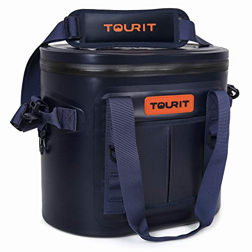 - TOURIT Soft Cooler 20 Cans Leak-Proof Soft Pack Cooler Bag Waterproof Insulated Soft Sided Coolers Bag with Cooler for Hiking, Camping, Sports, Picnics, Sea Fishing, Road Beach Trip