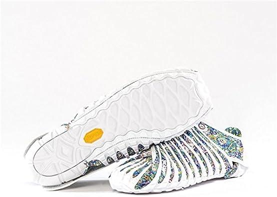 Vibram Zapatillas de Running Para Niño Blanco: Amazon.es: Zapatos y complementos