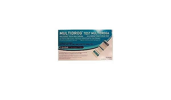 ACON TEST MULTIDROGA EN ORINA 10 DROGAS: Amazon.es: Salud y cuidado personal