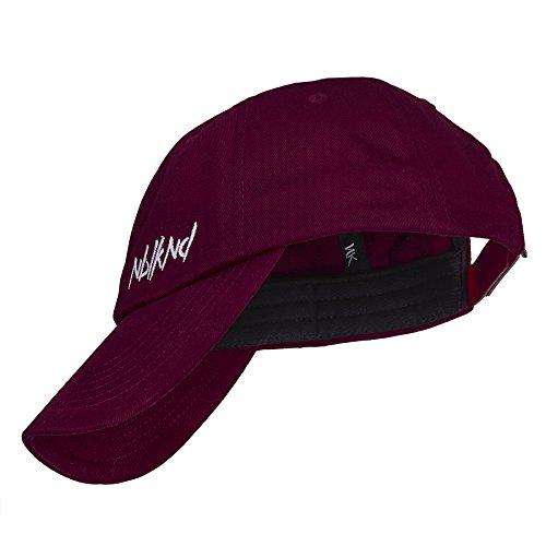 Nebelkind - Gorra de béisbol - para hombre rojo negro Talla única