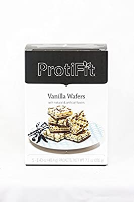 Proti Fit Vanilla Protein Wafers Ideal Protein Compatible