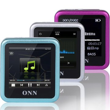 Q6 8GB MP3 1.5 Inch TFT Recording Clip Design WMA WAV Mp3 Music Player - Media Players MP3 Players - (Red) - 1 x Q6 MP3 Player, 1 x Charging Cable, 1 x User Manual