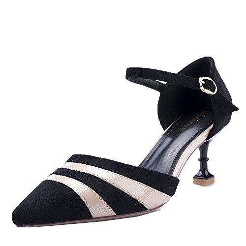 Alto Wind Single Da Tacco Scarpe Shoes Bouth Shoes Princess UK Col 6cm EU Con Court 5 Suede Fashion 5 Donna Wedding Beige Eleganti 38 Shallow qvZqEnw