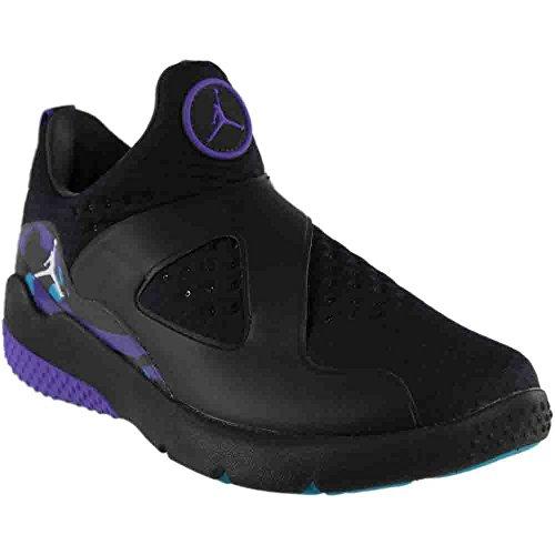 Jordan Men's Trainer Essential Running Shoe Black/White-Varsity Purple-Aquatone 8