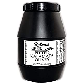 Roland Foods Pitted Kalamata Olives from Greece, 4 Lbs. 4 Oz.