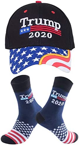 트럼프 2020 모자 및 양말 대통령 도널드 트럼프 2020 깃발 3X5 피트 Keep America Great MAGA 남성용 여성용 / 트럼프 2020 모자 및 양말 대통령 도널드 트럼프 2020 깃발 3X5 피트 Keep America Great MAGA 남성용 여성용