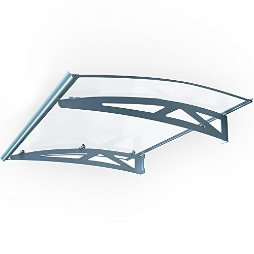 Koval Inc 3 Ft Diy Overhead Clear Outdoor Awning Patio