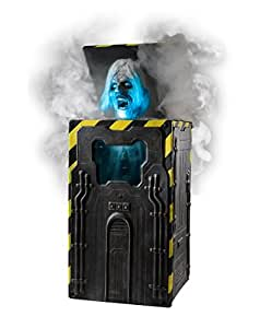 Spirit Halloween 2.5 Ft Cryo Chamber Corpse Animatronics – Decorations