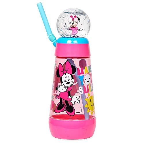 Disney Minnie Mouse Snowglobe Tumbler with Straw -
