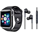 TECHNITY U8 Bluetooth Smartwatch with Apple Earphone for All Types of iPhone (White)