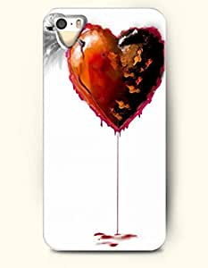 OOFIT Phone Case design with I Love You for Apple iPhone 5 5s 5g